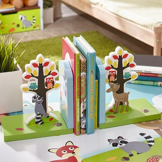 Fantasy Fields Enchanted Woodland Set of Bookends