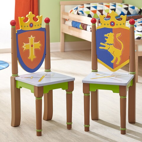 Fantasy Fields Knights and Dragon Chairs (Set of 2)