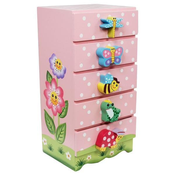 Shop Fantasy Fields Magic Garden Trinket Chest - Free Shipping Today ...