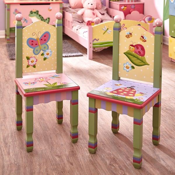 Magic Garden Table And Chair Set: Shop Fantasy Fields Magic Garden Chairs (Set Of 2)