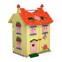 Teamson Fantasy Fields Magic Garden Hand-carry Doll House