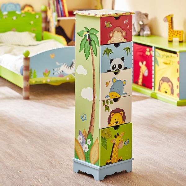 Fantasy Fields Sunny Safari 5-drawer Cabinet