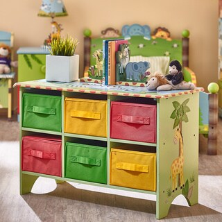 Fantasy Fields Sunny Safari Storage Cubby Base Set