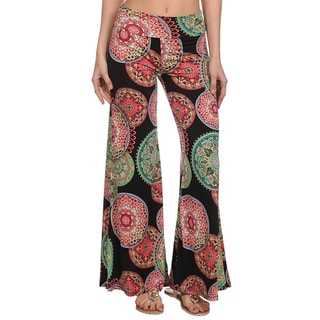 MOA Collection Women's Sun Disc Print Pants