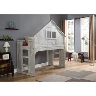 Link to Donco Kids Brushed Driftwood Finish Club House Low Loft Similar Items in Kids' & Toddler Furniture