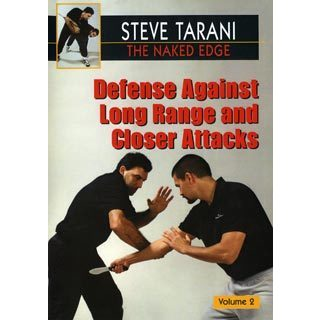 Naked Edge #2 Defense Against Long & Close Range knife Attacks DVD Steve Tarani
