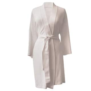 Rockwell 100-percent Organic Cotton Ivory Lighweight Bath Robe|https://ak1.ostkcdn.com/images/products/10958905/P17983998.jpg?impolicy=medium