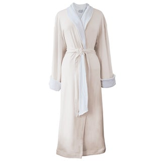 Rockwell 100-percent Organic Cotton Ivory Heavyweight Bath Robe