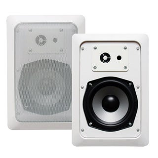 Acoustic Audio CS-IW520 In-wall Speaker Pair 2-way Home Theater 400 Watt CS-IW520-PR