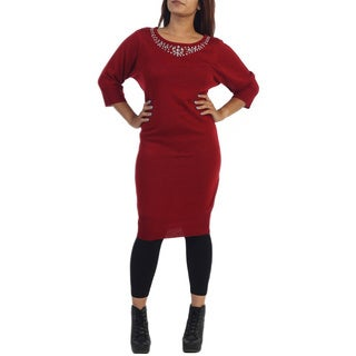 Ella Samani Women's Plus Size Sweater Dress