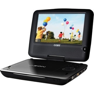 Coby TFDVD7379 7-inch NTSC/ PAL Portable DVD Player