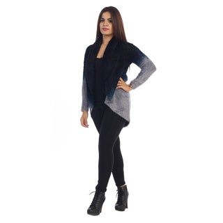 Women's Two-Tone Faux Fur Cardigan (More options available)