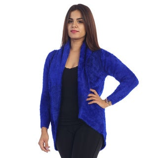 Women's Faux Fur Open Cardigan