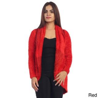 Women's Faux Fur Open Cardigan