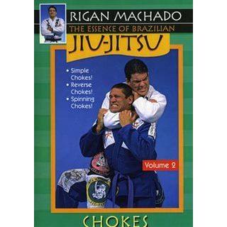 Essence Brazilian Jiu Jitsu #2 Reverse Spinning Chokes DVD Rigan Machado MMA
