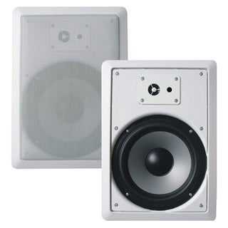 Acoustic Audio CS-IW830 In-wall 8-inch Speaker Pair 3-way Home Theater 700 Watt CS-IW830-PR