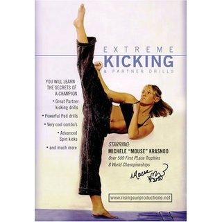 Extreme Kicking & Partner Drills Karate Competition DVD Michele Mouse Krasnoo
