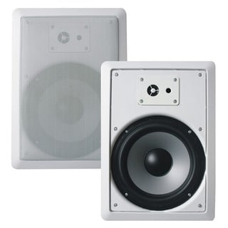 Acoustic Audio CS-IW630 In-wall 6.5-inch Speaker Pair 3-way Home Theater 600 Watt CS-IW630-PR