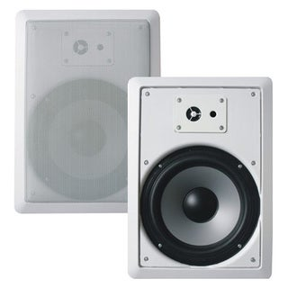 Acoustic Audio CS-IW620 In-wall 6.5-inch Speaker Pair 2-way Home Theater 500 Watt CS-IW620-PR