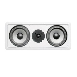 Acoustic Audio CS-IW26CC In-Wall Dual 6.5-inch Center Channel Speaker 250 Watts