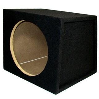 Single Car Black Subwoofer Box Sealed Automotive Enclosure for 12-inch Woofer TR12S
