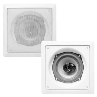 Acoustic Audio CS-I43S In-wall / Ceiling 3-way Speaker Pair Home 400 Watts CS-I43S-PR