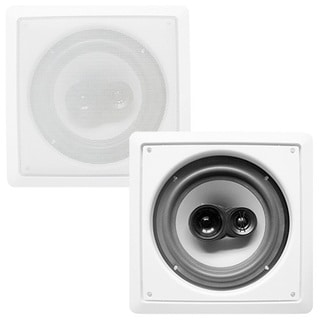 Acoustic Audio CS-I63S In-wall / Ceiling 6.5-inch Speaker Pair 3-way 600 Watt CS-I63S-PR