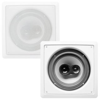 Acoustic Audio CS-I83S In-wall / Ceiling 8-inch Speaker Pair Home Theater 3-way 700 Watt CS-I83S-PR
