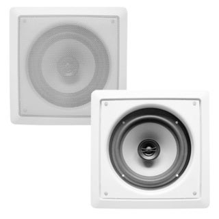 Acoustic Audio CS-I82S In-wall / Ceiling 8-inch Speaker Pair Home Theater 600 Watts CS-I82S-PR