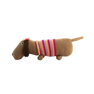 Cotton Dog Stuffed Animal (Peru)