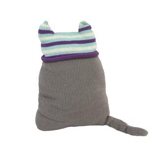 Cotton Cat Stuffed Animal/ Pillow (Peru)