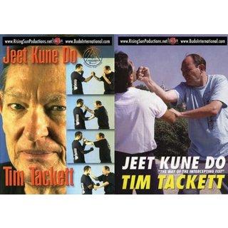 Jeet Kune Do Tim Tacket 2 DVD Set Bruce Lee jun fan martial arts kung fu