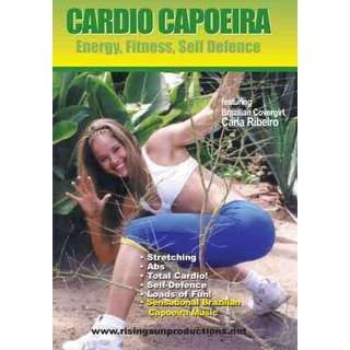 Brazilian Cardio Capoeira Aerobic Workout Martial Art 3 DVD Set Ribeira RS-0121