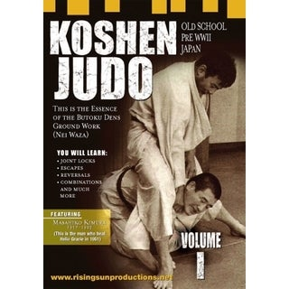 1970s Japanese Grappling Koshen Judo 2 DVD Set Masahiko Kimura mma