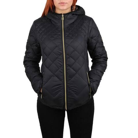 Michael Michael Kors Women's Black Packable Coat