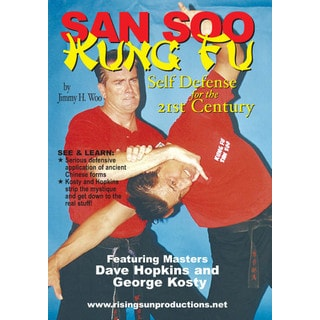 Chinese Kung Fu San Soo of Jimmy Woo 2 DVD Set Dave Hopkins George Kosty