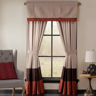 Brightwood Window Collection Valance and Drapes Separates