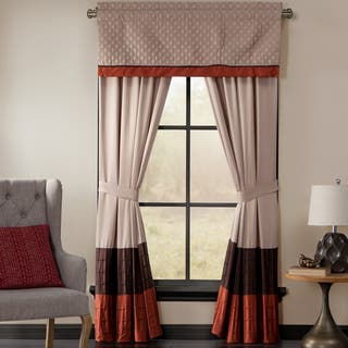 Brightwood Window Collection Valance and Drapes Separates https://ak1.ostkcdn.com/images/products/10959033/P17984089.jpg?impolicy=medium