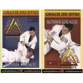 Robin Gracie Brazilian Jiu-Jitsu 2 DVD Set self defense MMA throwing