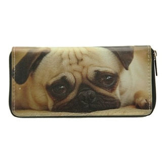 Pet Togo Puppy Pug Zip-around Wallet