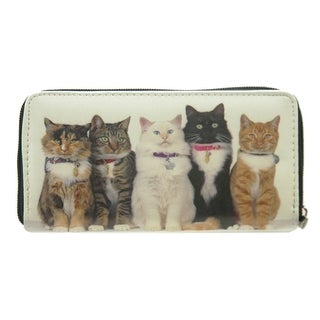 Pet Togo Five Kitten Zip-around Wallet