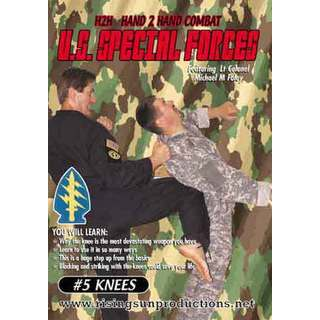 US Special Forces H2H Knees blocks strikes DVD Foley martial arts army