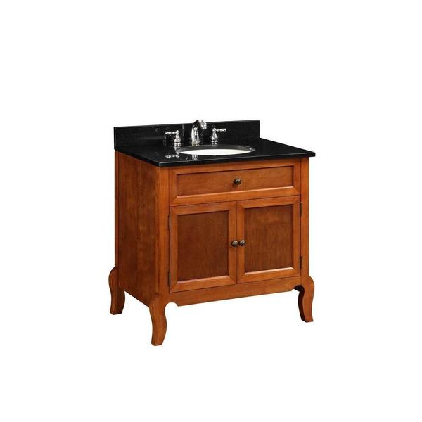 30 inch x x 21 inch vanity cabinet only in light mahogany