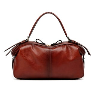 Vicenzo Leather Ellen Top Handle Leather Handbag