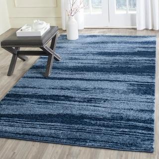 Safavieh Retro Modern Abstract Light Blue/ Blue Rug (5' x 8')