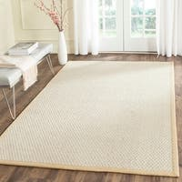 Safavieh Casual Natural Fiber Hand-Woven Sand Sisal Rug - 4' x 6'