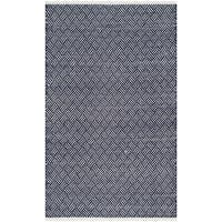 Safavieh Hand-Tufted Boston Navy Cotton Rug - 3' x 5'