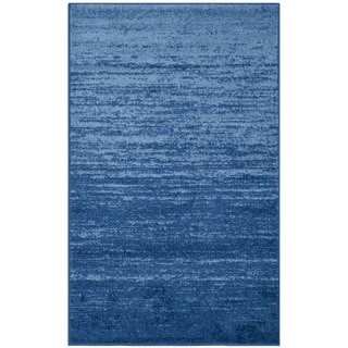 Safavieh Adirondack Modern Light Blue/ Dark Blue Rug (3' x 5')