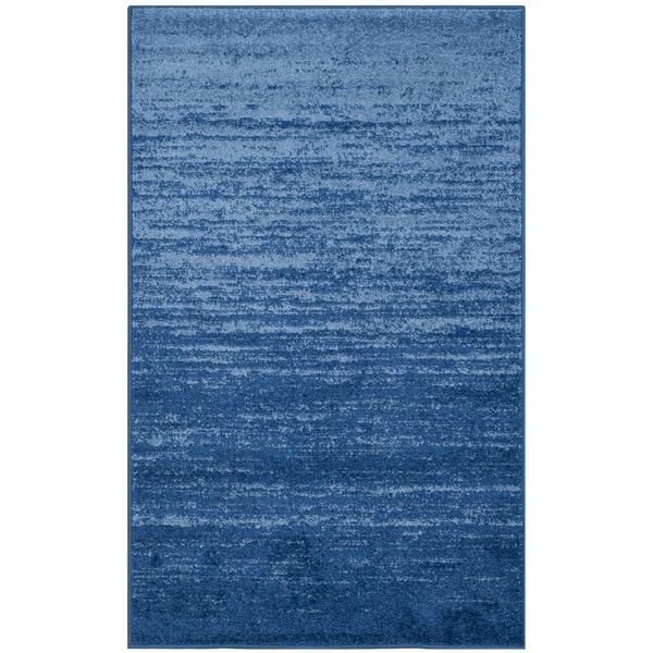Safavieh Adirondack Vintage Ombre Light Blue/ Dark Blue Rug (3' x 5')