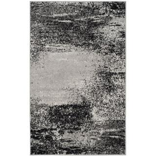Safavieh Adirondack Modern Abstract Silver/ Multi Rug (3' x 5')